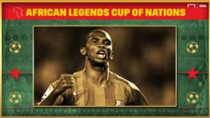 African Legends Cup of Nations: Eto'o