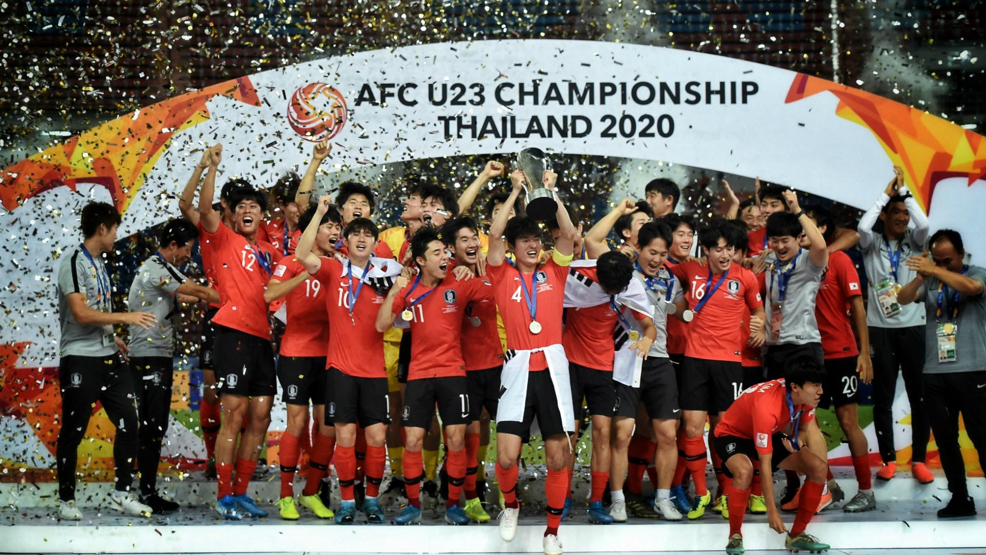 AFC U23 Asian Cup: List of winners (2013-2020)