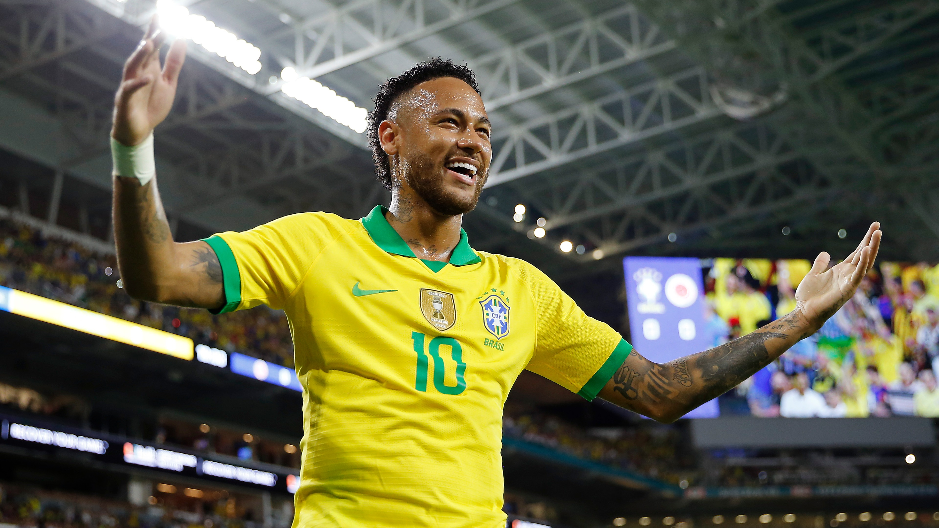 Neymar scores for Brazil in first match for three months | Goal.com