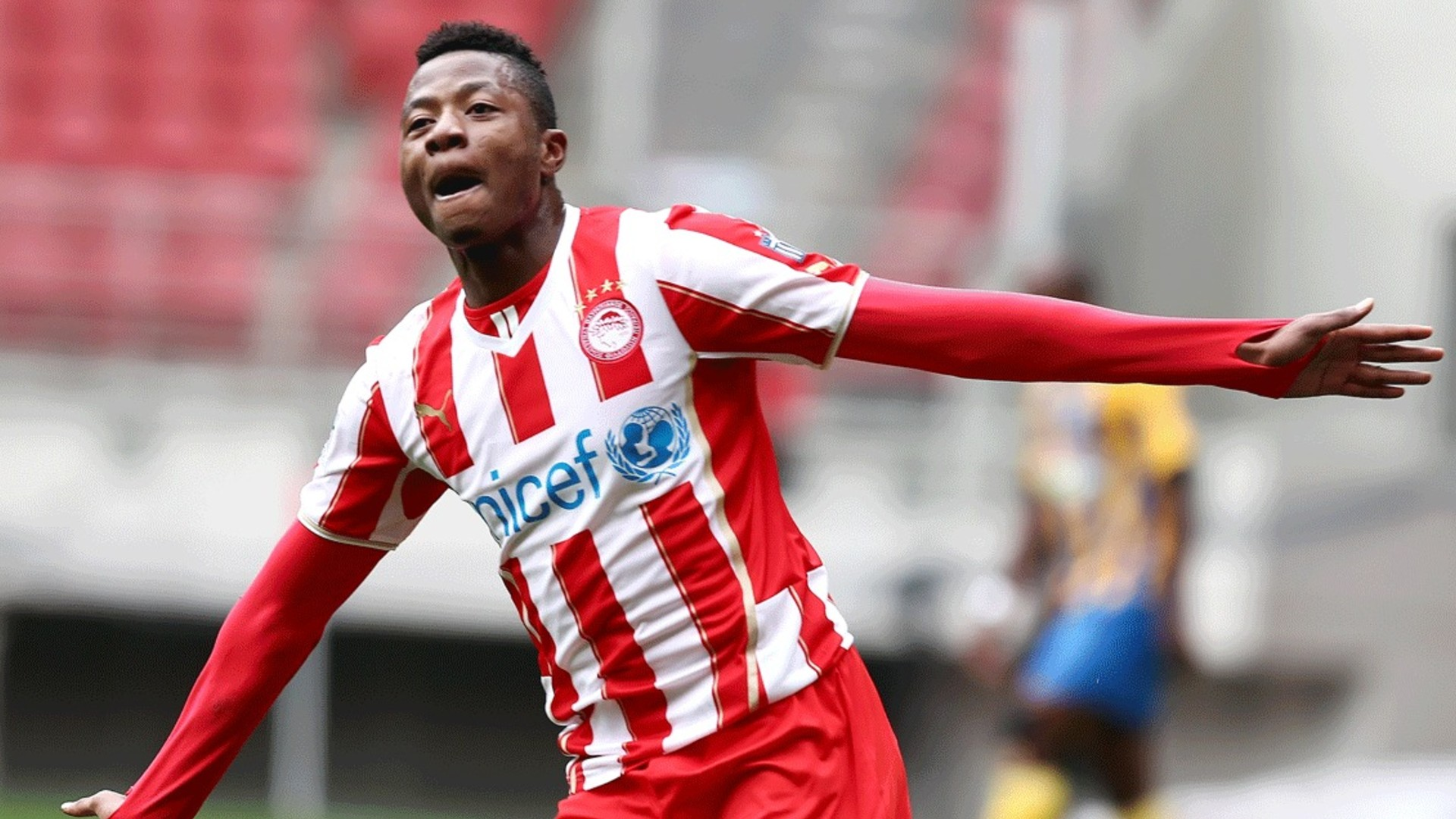 Olaitan doubts Manchester United match caused his collapse at Olympiakos