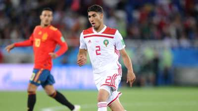 Achraf Hakimi Morocco Spain World Cup 2018 250618