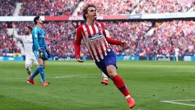 Antoine Griezmann Atletico Madrid Real Madrid