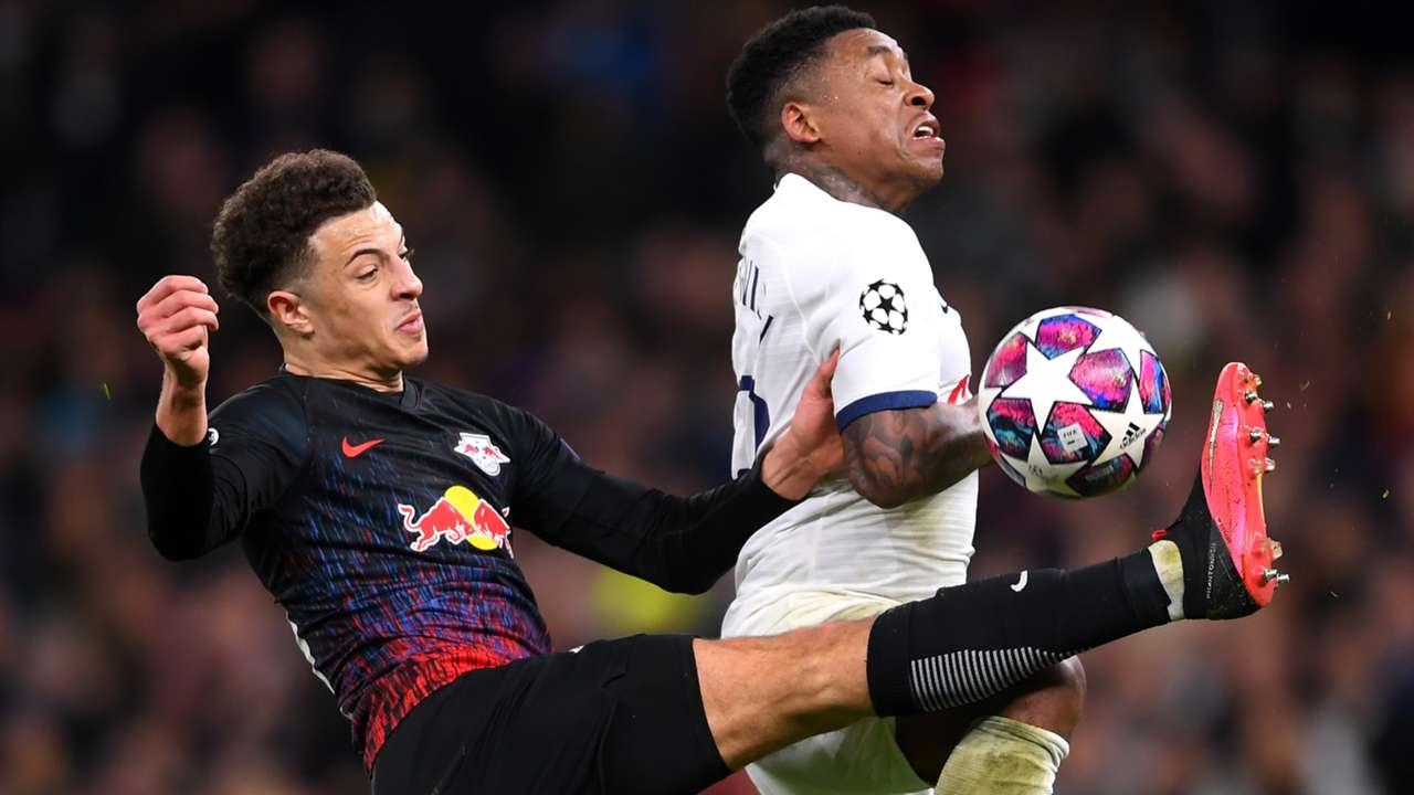 Steven Bergwijn Tottenham Ethan Ampadu RB Leipzig