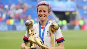 World Cup winner Rapinoe named The Best FIFA Women's Player