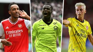 Aubameyang Pepe Ozil Arsenal