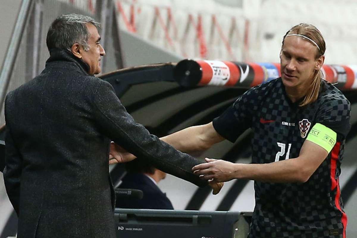 Croatia's Vida subbed off after positive Covid-19 test in Turkey draw   Goal.com