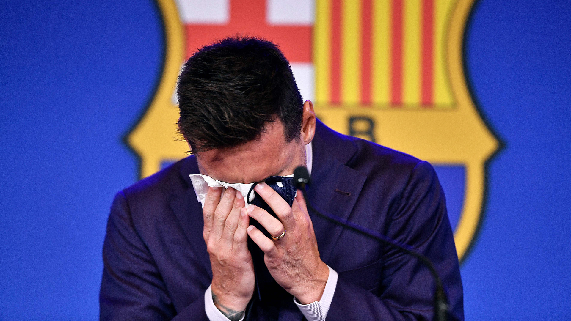Fan View: Must he always play at Barcelona? - Mixed reactions after Messi's emotional presser
