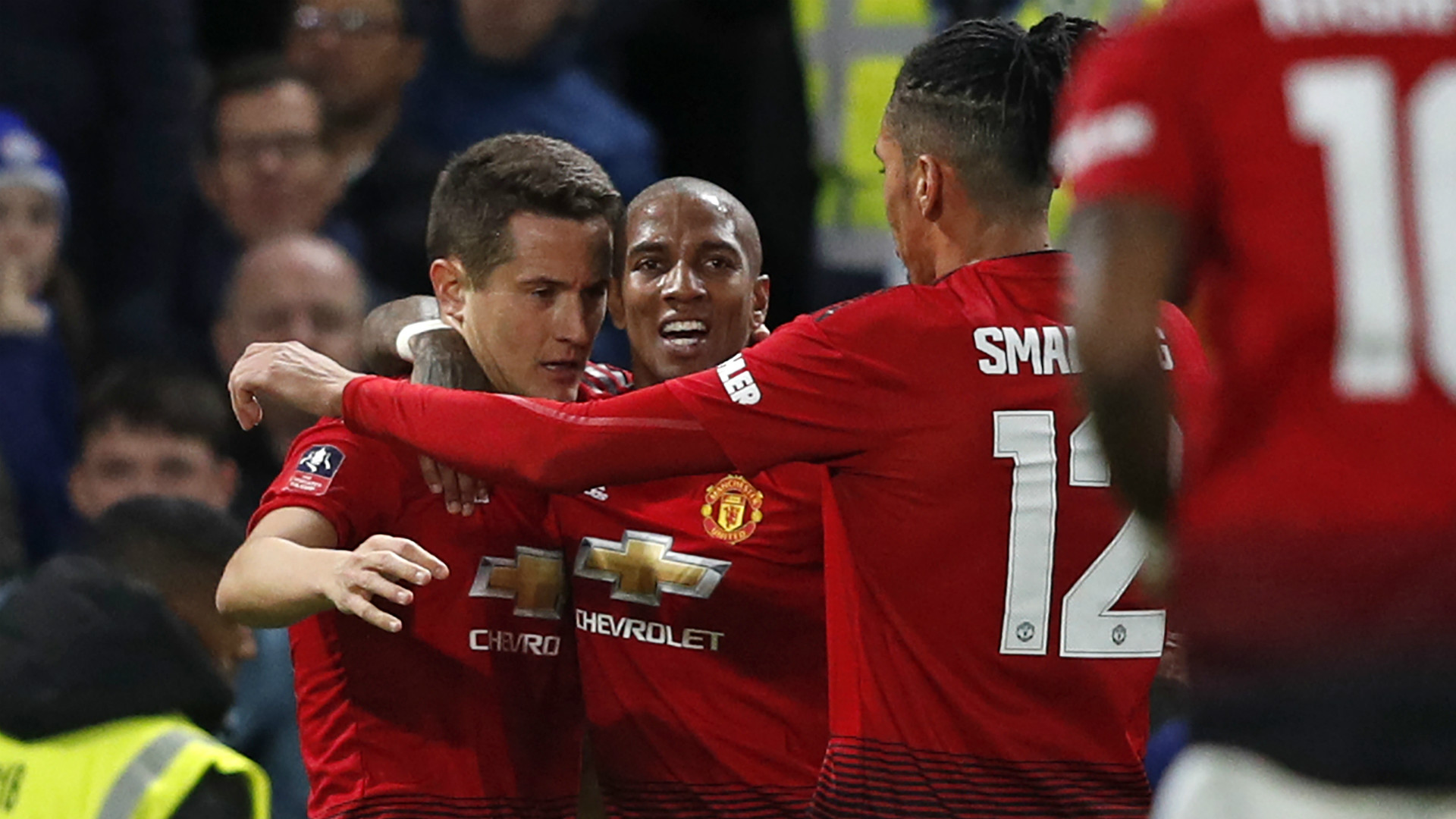 Ander Herrera Manchester United FA Cup 18022019