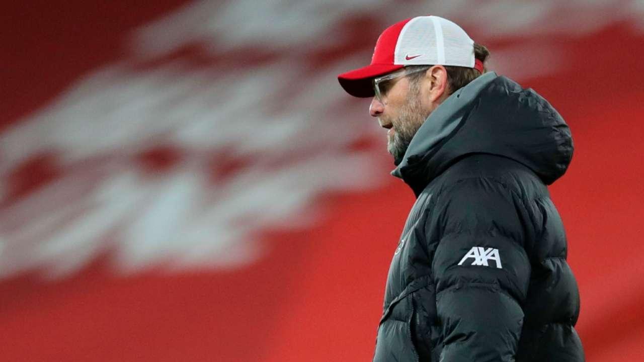 Klopp Liverpool 2021 Burnley