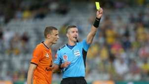A-League yellow card