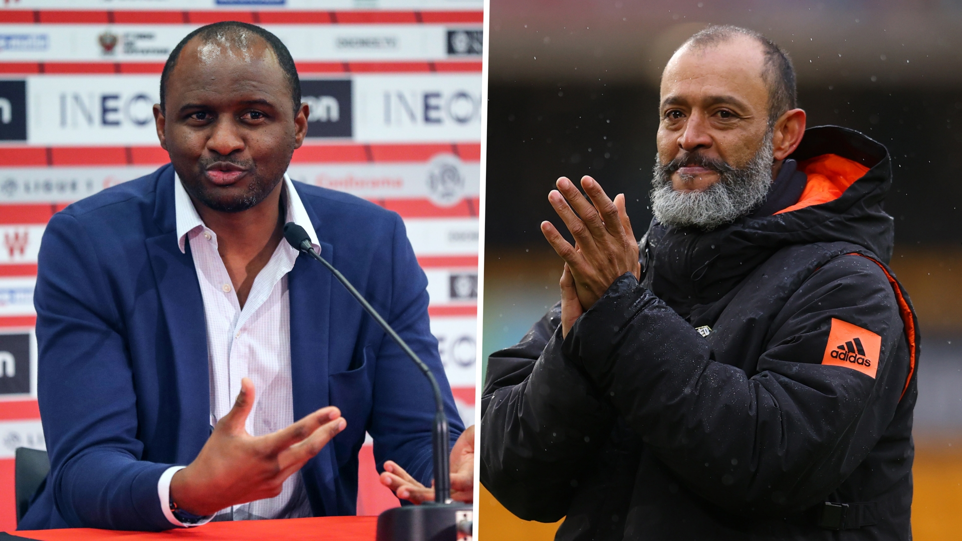 Vieira or Nuno: Which African-born manager will last longer in their new role?