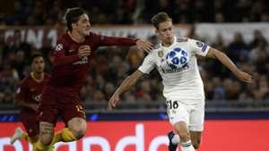 Marcos Llorente Nicolò Zaniolo Roma Real Madrid Champions League