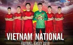 Áo đấu mới của ĐT Việt Nam