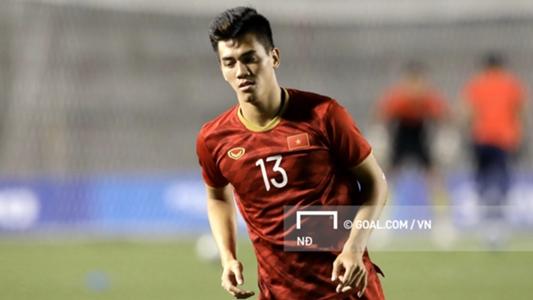 Chiều cao ấn tượng của cầu thủ U22 Việt Nam tại SEA Games 30 | Goal.com
