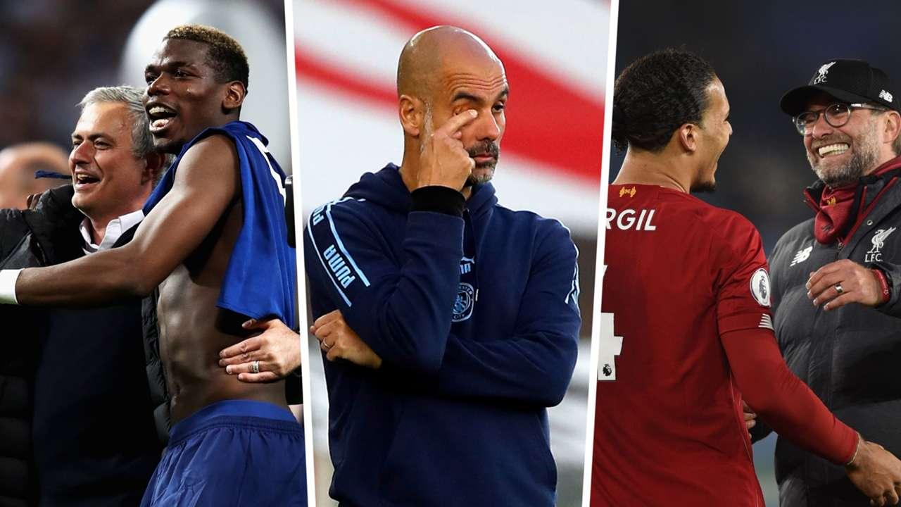 Mourinho, Guardiola, Klopp