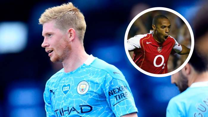 Kevin De Bruyne Thierry Henry GFX