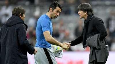 Joachim Löw Gianluigi Buffon Germany Italy Friendly 29032016