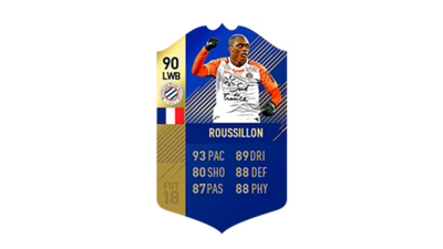 FIFA 18 Ligue 1 Team of the Season Roussillon