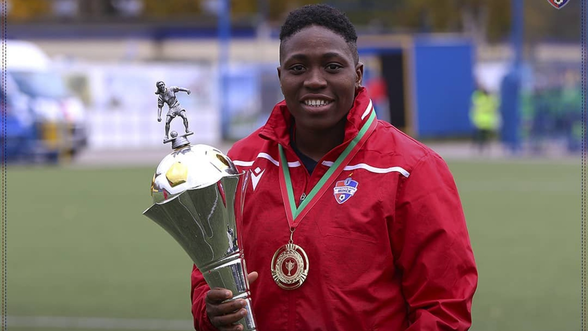Oghiabekhva becomes first African to clinch Women's Champions League Golden Boot