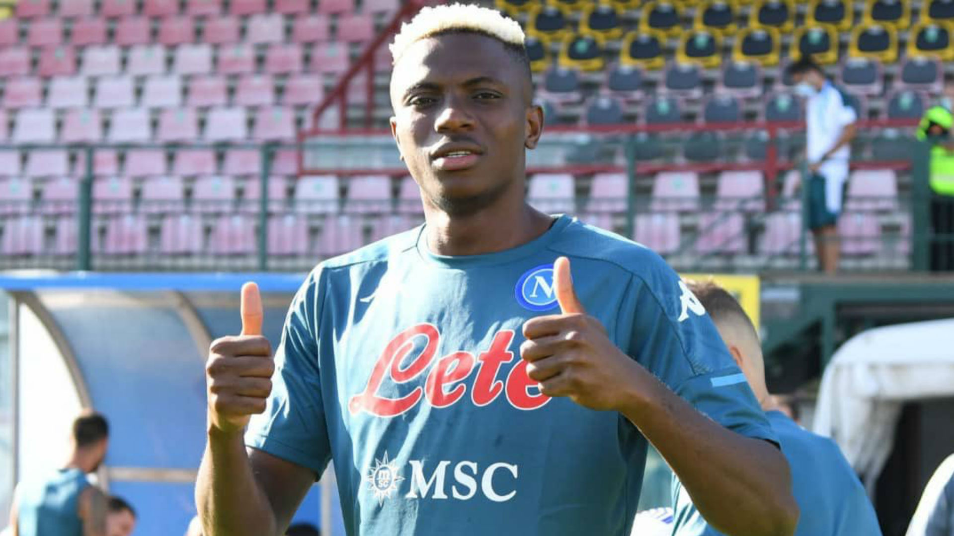 Six goals in two games! Osimhen scores another hat-trick in Napoli friendly win