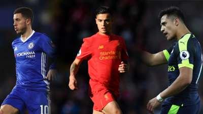 Equipe-type Premier League 2016-2017 Montage Collage