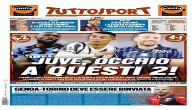 1 October Tuttosport