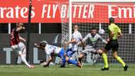 Jens Petter Hauge Milan Sampdoria