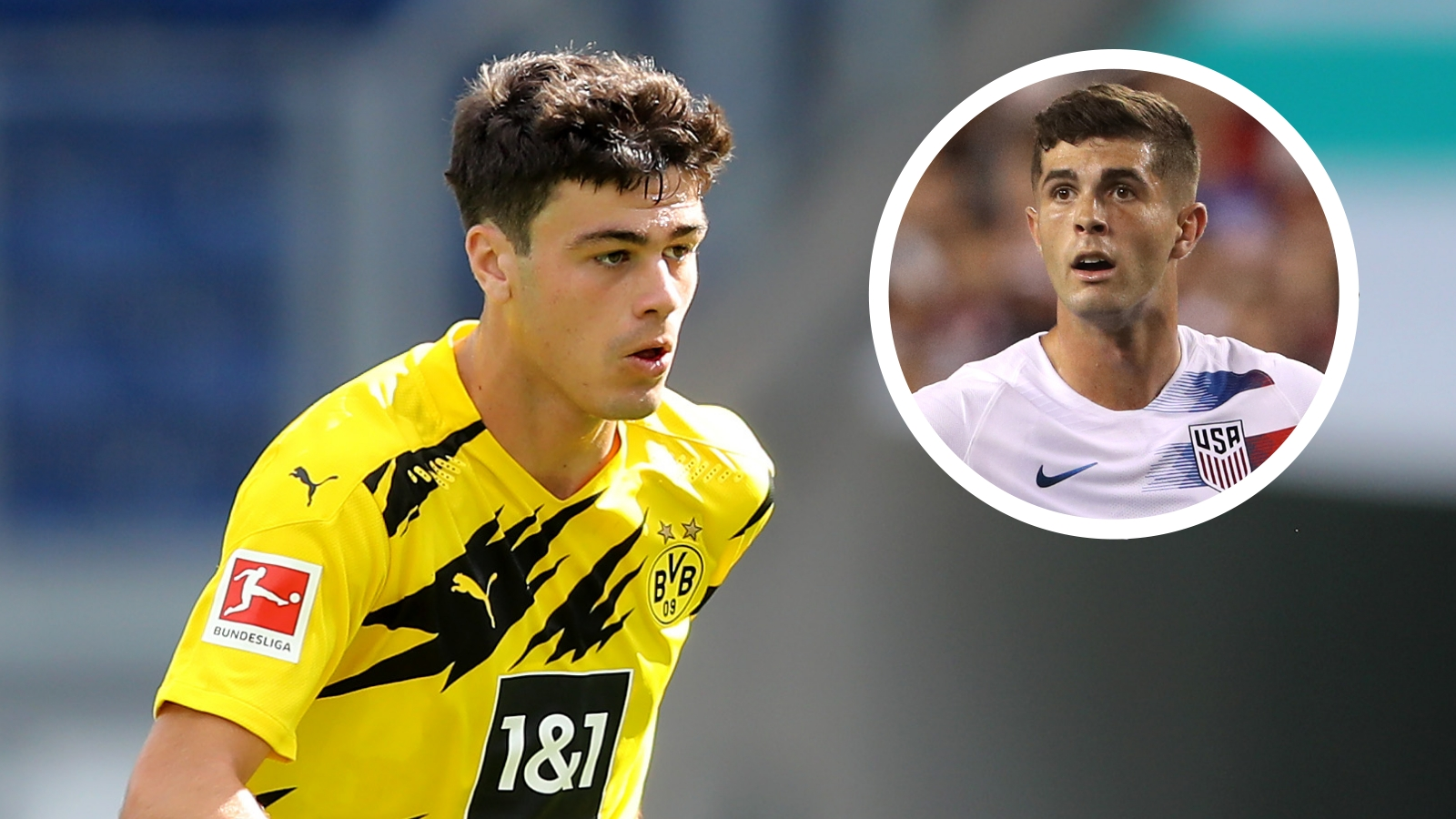 Pulisic excited by Reyna's potential as Chelsea & USMNT star says 'sky's the limit' for Dortmund teenager