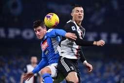 Diego Demme vs Cristiano Ronaldo