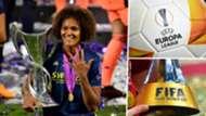 Women's Champions League Europa League Club World Cup composite