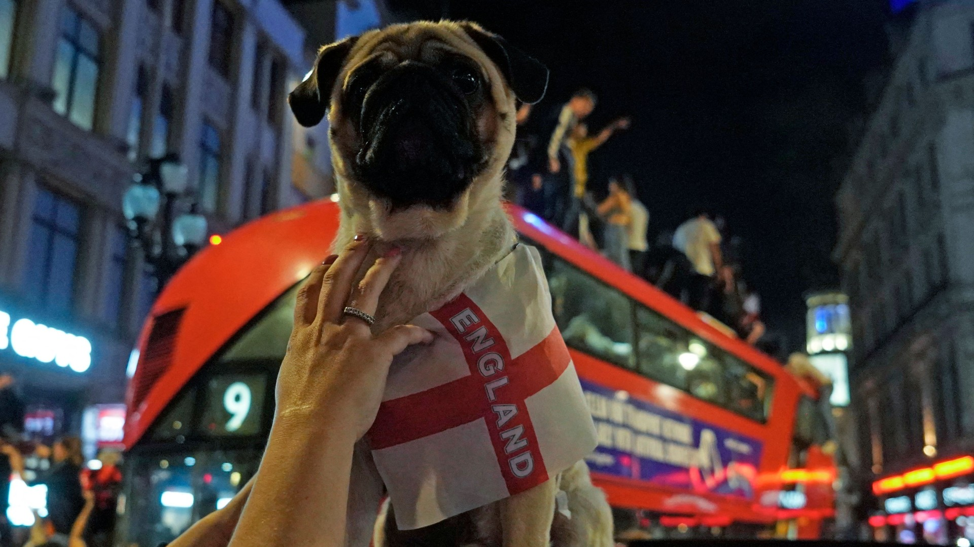 It's coming home! England fans & players celebrate reaching first final since 1966