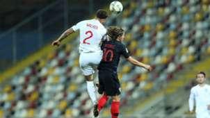 croatia england - luka modric kyle walker - nations league - 12102018