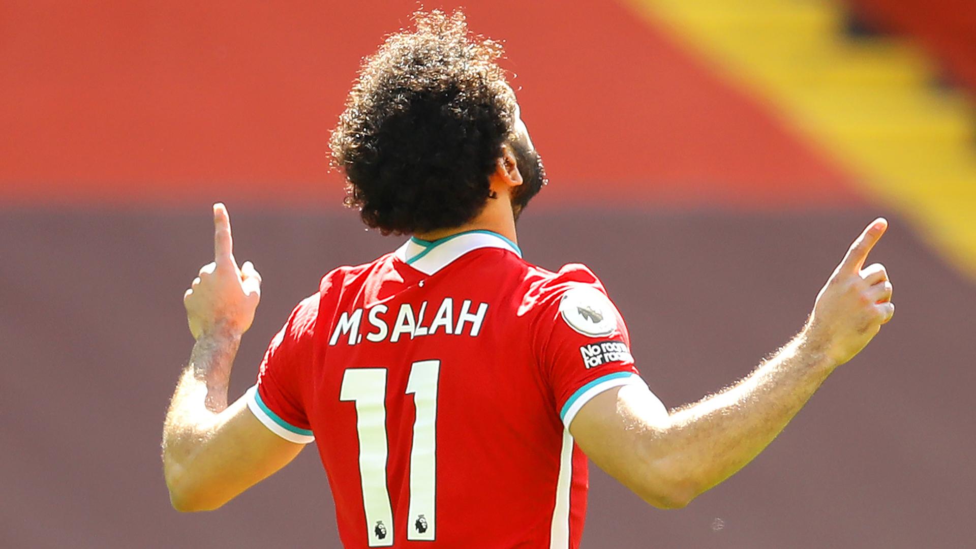 Liverpool's Salah 'very proud' after claiming Laureus Sporting Inspiration award