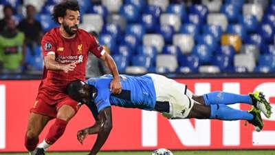 Salah Koulibaly Napoli Liverpool Champions League