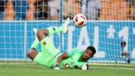 Kaizer Chiefs goalkeeper Virgil Vries October 2018