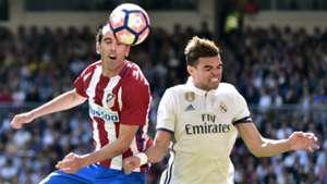 Pepe Diego Godin Real Madrid Atletico Madrid La Liga
