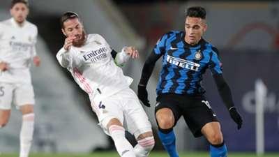 Sergio Ramos Real Madrid Inter