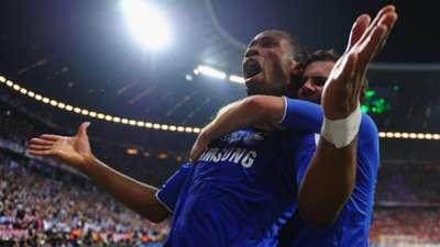 Didier Drogba Juan Mata Chelsea Bayern Munich Champions League Final 2012
