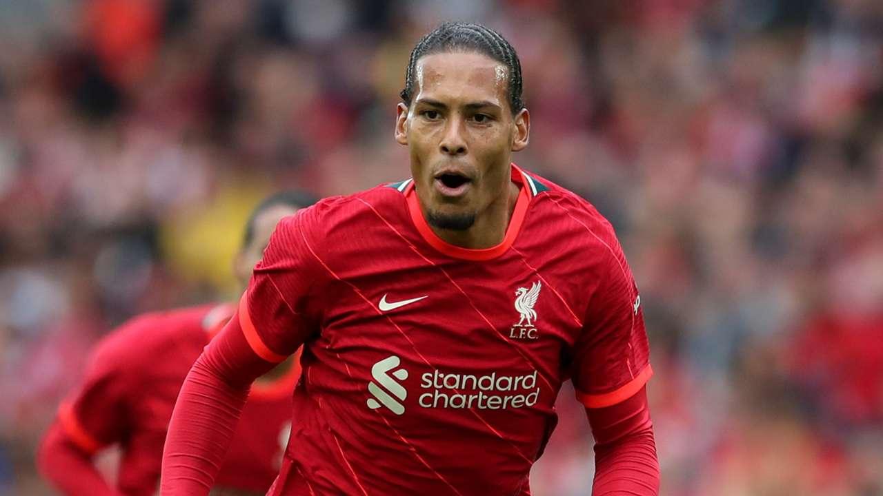Virgil van Dijk Liverpool 2021-22