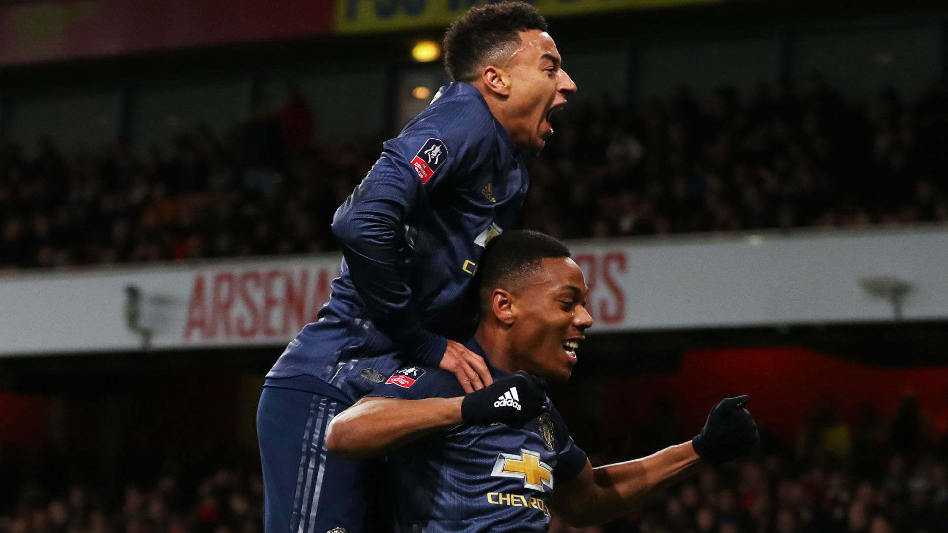 Anthony Martial Jesse Lingard Manchester United FA Cup