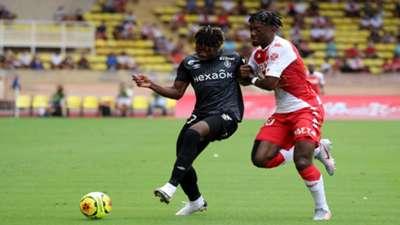 El Bilal Toure  Axel Disasi Monaco Reims Ligue 1 23082020