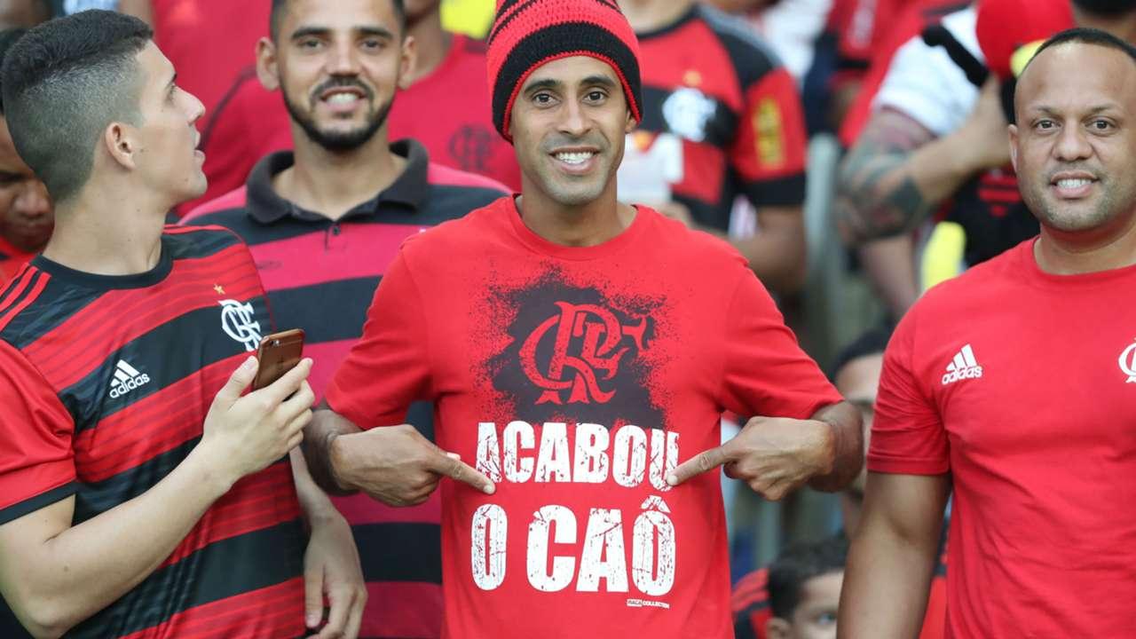 Guerrero torcida Flamengo 07 05 2018