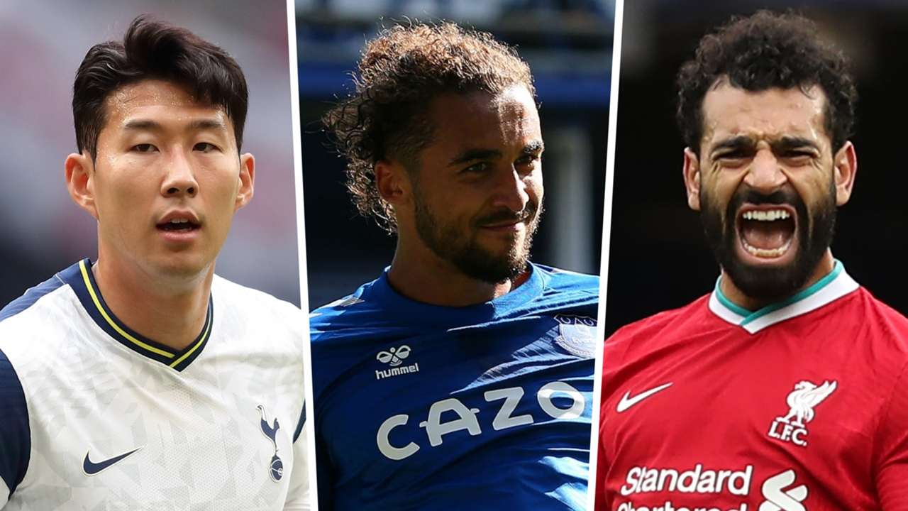 Premier League top-scorers 2020-21 Son Calvert-Lewin Salah