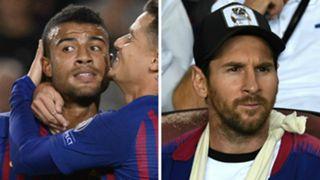 Rafinha Lionel Messi Barcelona GFX