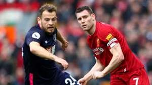 James Milner, Ryan Fraser, Liverpool vs Bournemouth
