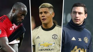Romelu Lukaku, Marcos Rojo, Matteo Darmian, Man Utd