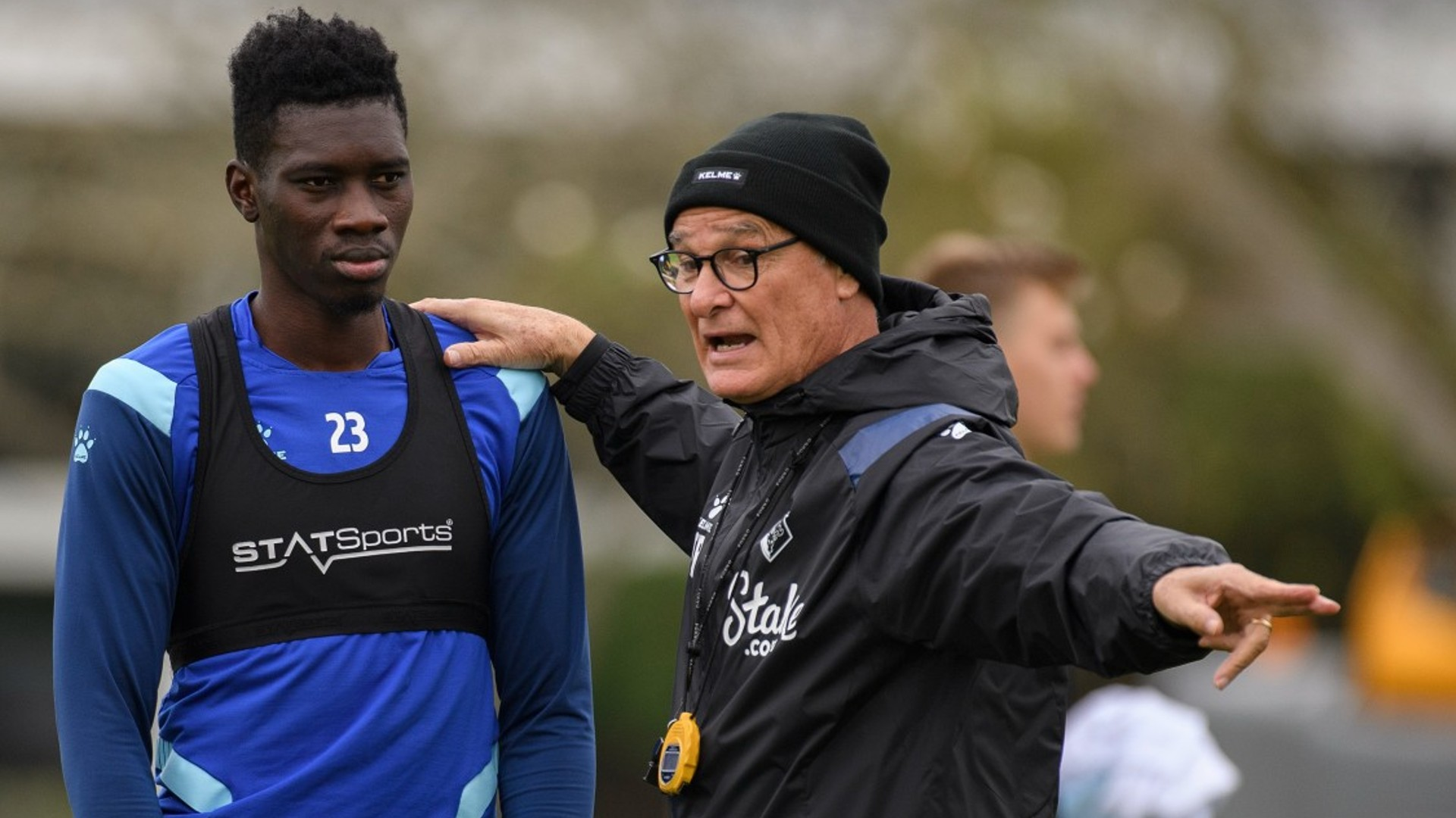 Sarr: Ranieri suggests 'best position' for Watford star ahead of Everton visit