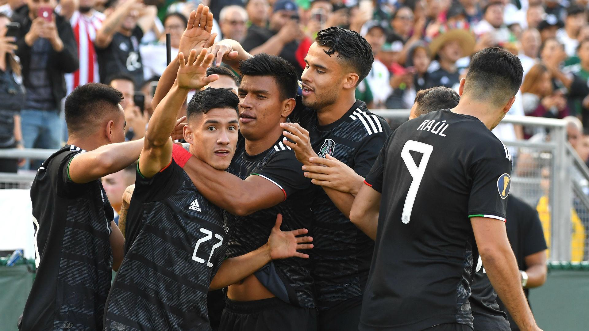 Uriel Antuna Mexico Cuba Gold Cup 2019