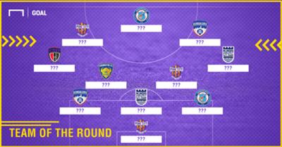 ISL 2017-18 Team of the Round 8