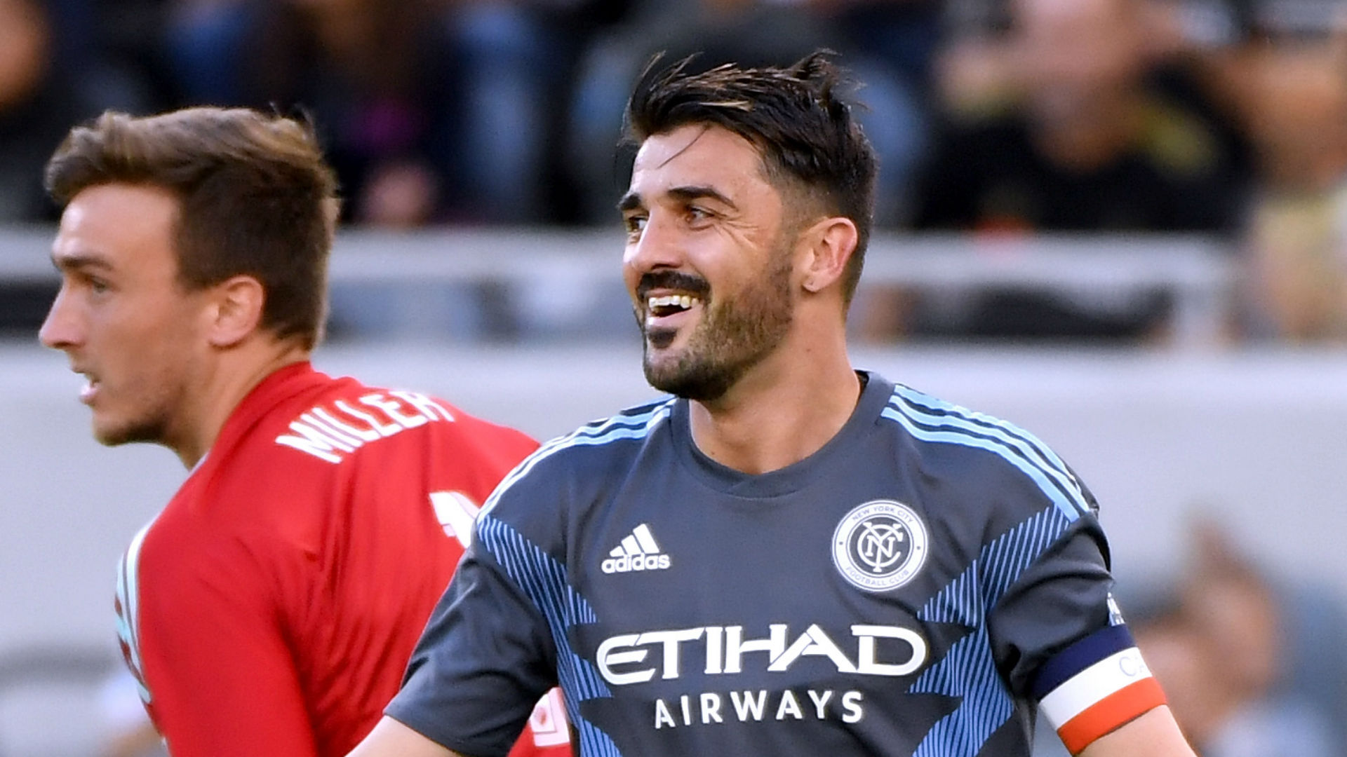 David Villa New York City FC 2018